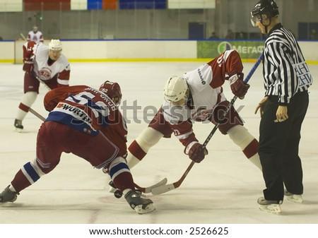 Ice Hockey. Frame #206 - stock photo