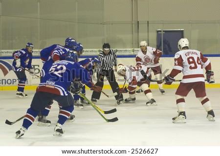 Ice Hockey. Frame #208 - stock photo