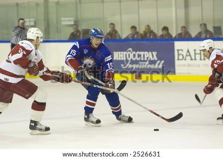 Ice Hockey. Frame #212 - stock photo
