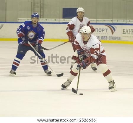 Ice Hockey. Frame #217 - stock photo