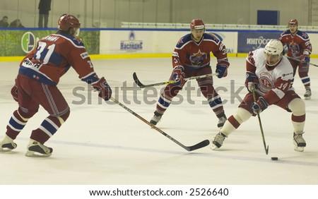 Ice Hockey. Frame #221 - stock photo