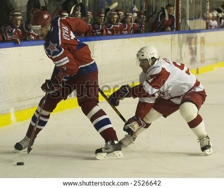 Ice Hockey. Frame #223 - stock photo