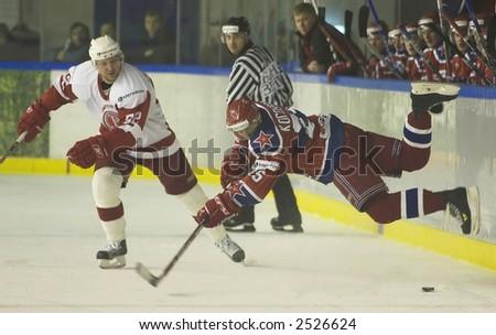 Ice Hockey. Frame #205. Matrix - stock photo