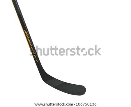 Ice hockey stick - stock photo