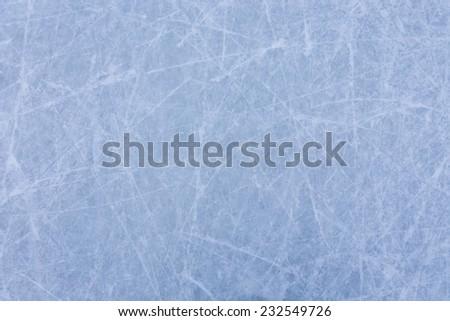 Ice rink texture - stock photo