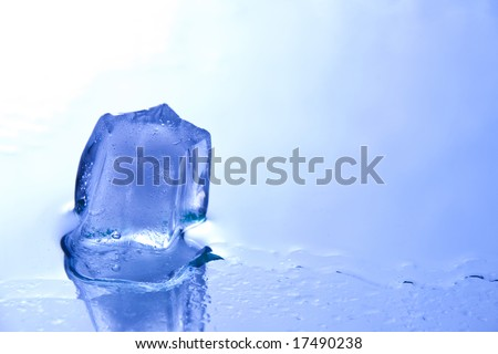 ice star - stock photo