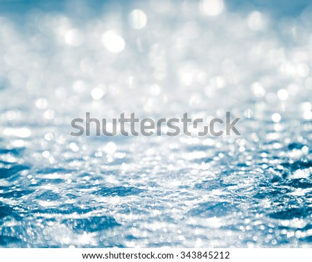 Ice surface Closeup, Abstract background. - stock photo