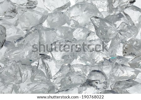 Ice texture  as a background - stock photo