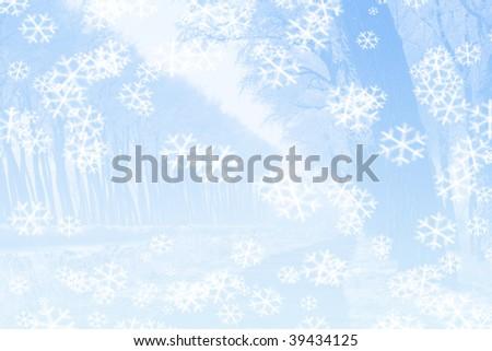 ice white snow - stock photo