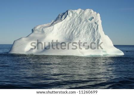 Iceberg near Labrador - stock photo