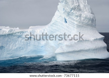 Icebergs at Antarctica