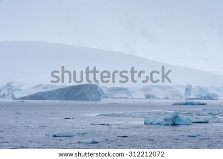Icebergs of the South Pole