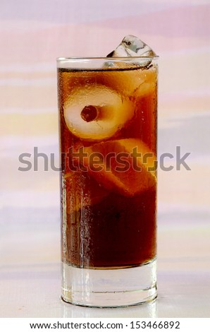 Iced Cola. - stock photo