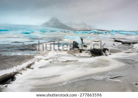Iceland Landscape : Jokulsarlon - stock photo