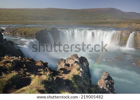 Iceland's Godafoss, Waterfall of the Gods
