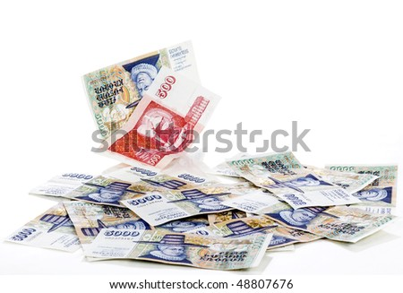 Icelandic krona - stock photo