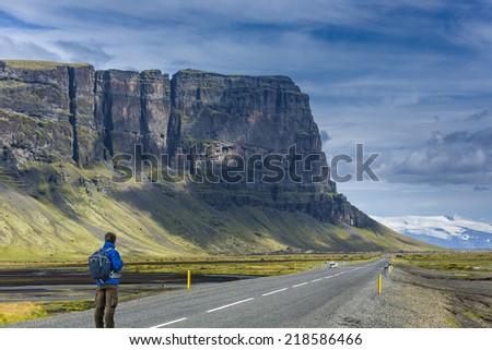 Icelandic landscapes - stock photo