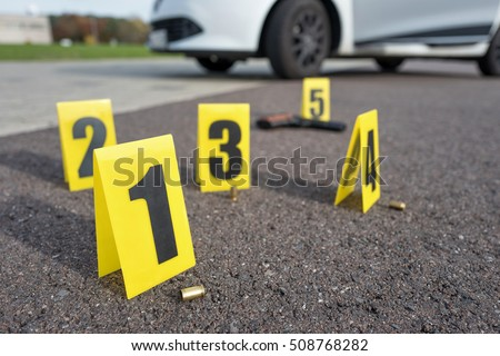 Evidence Marker Stock Images Royalty Free Images