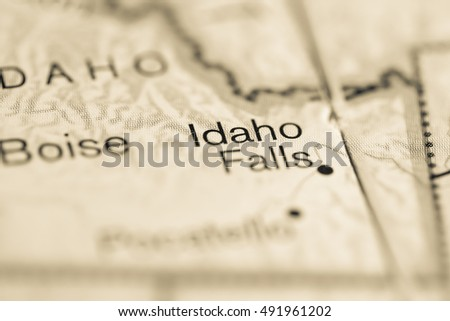 Idaho Falls. USA.