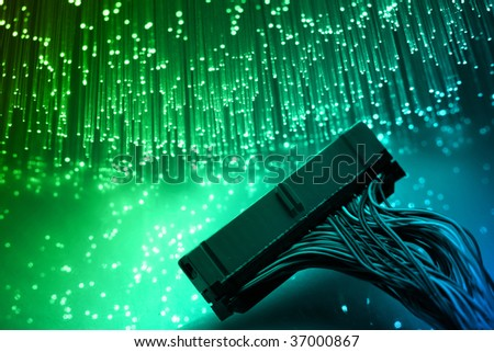 Ide cable - stock photo