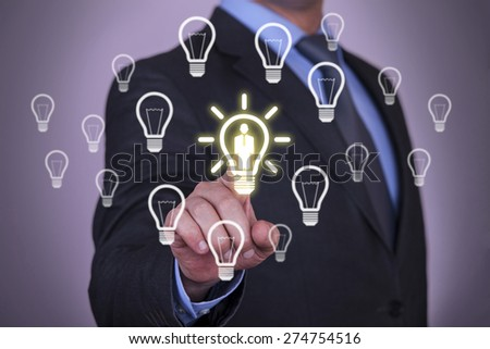 Idea Business Concept