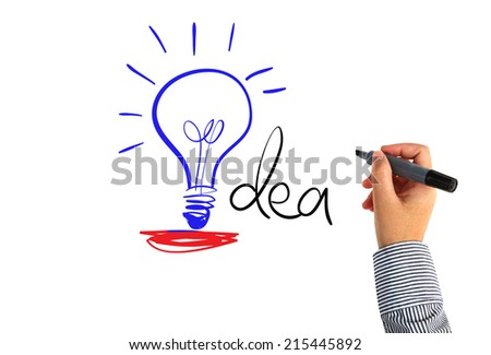 Idea concept - stock photo