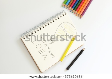 Idea Concepts on Notebook