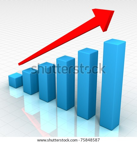 Ideal Business Chart - stock photo