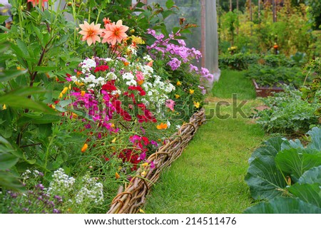 ideas for garden - flowers bed