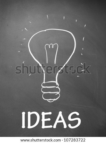 ideas symbol - stock photo