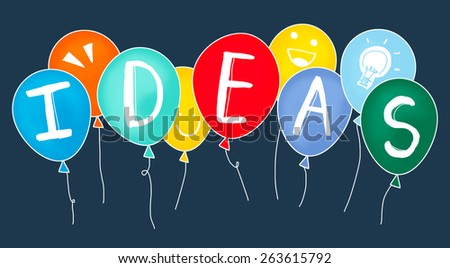 Ideas Thinking Concept Inspiration Creativity Concept - stock photo