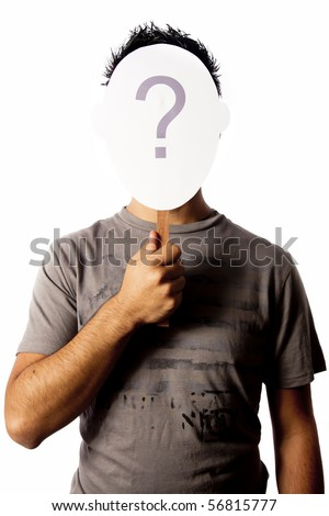 identity issues photo concept - stock photo