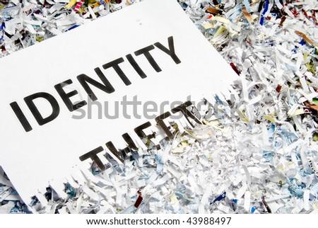 Identity Theft - stock photo