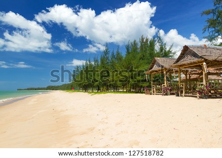 Idyllic beach of Andaman Sea in Koh Kho Khao, Thailand