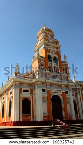 Iglesia de Xalteva, Granada, Nicaragua, Central America - stock photo