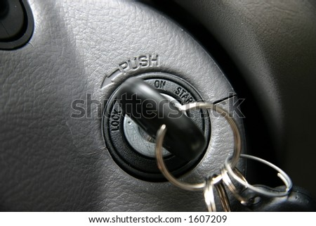 Ignition - stock photo