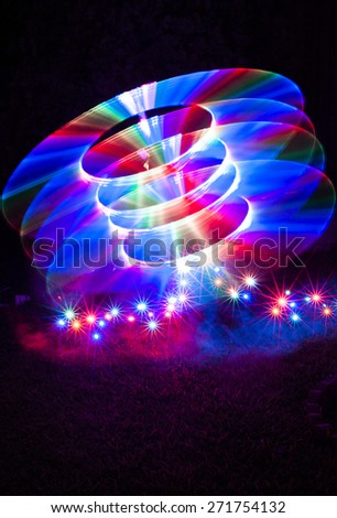 Ignition - Light Painting Image