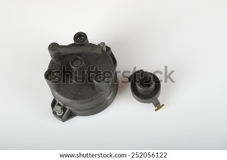 ignition part - stock photo
