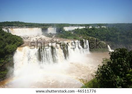 iguacu falls - stock photo