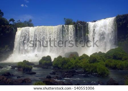 Iguacu Falls, Brazil - stock photo