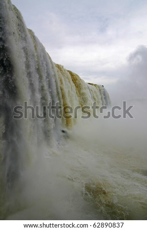 Iguazu falls - stock photo