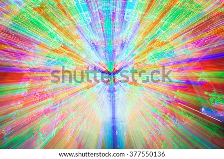 Illuminate Lighting, abstract background, zoom
