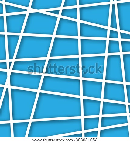 Illustration Abstract Geometric Background with Polygons - raster