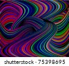 illustration background entanglement to lines of the bar - stock photo