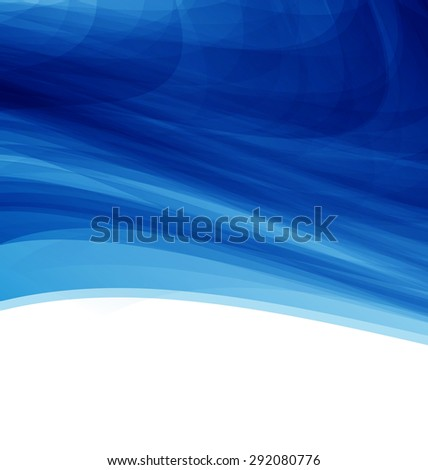Illustration Blue Futuristic Abstract Background, Modern Template - raster