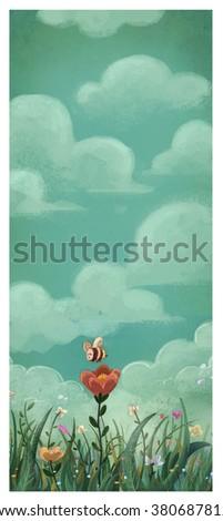 illustration Nature - stock photo