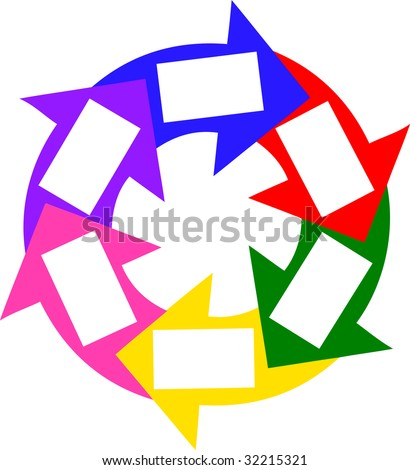 illustration of a blank success circle