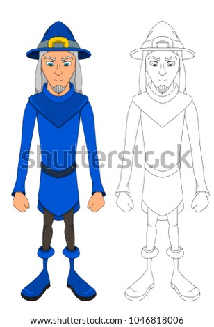 blue wizard stock images royalty free images vectors shutterstock