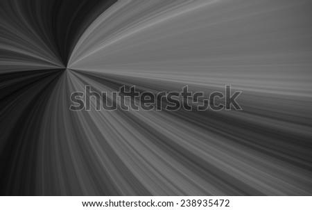 illustration of black and white sunburst - digital high resolution - stock photo