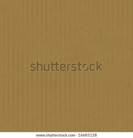 illustration of brown carton box detailed texture (seamless tiling) - stock photo